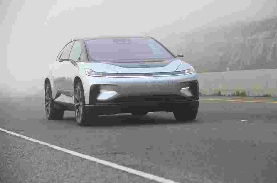 法拉第未来FF91:驾驶近几乎没有发生的汽车