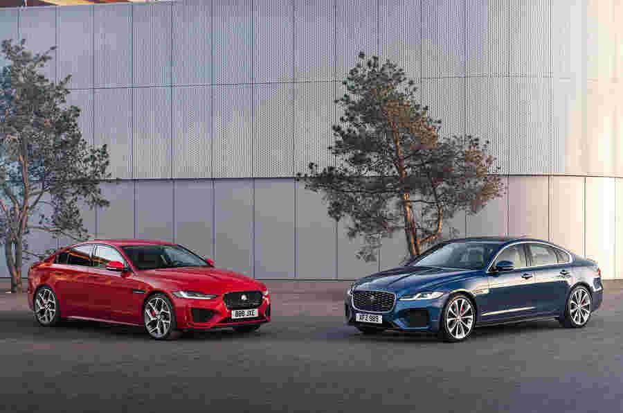 Jaguar宣布宣布成长XE和XF销售的新策略