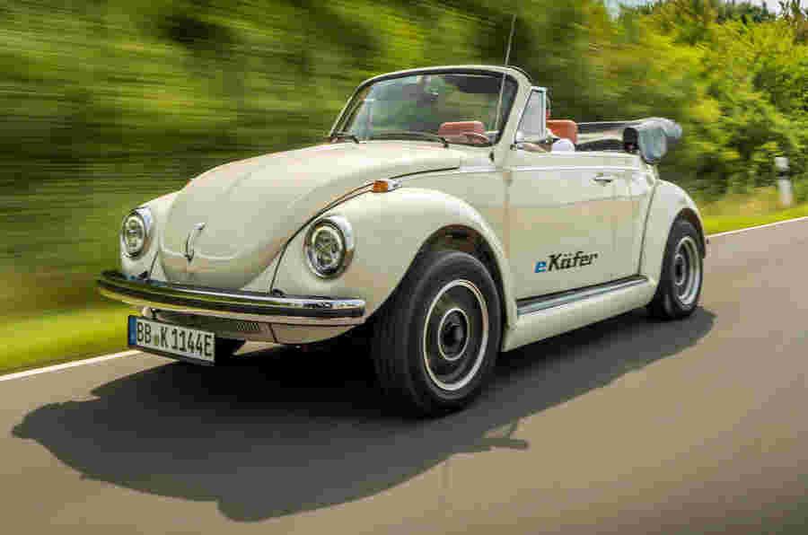 大众汽车为甲壳虫创建电动转换套件