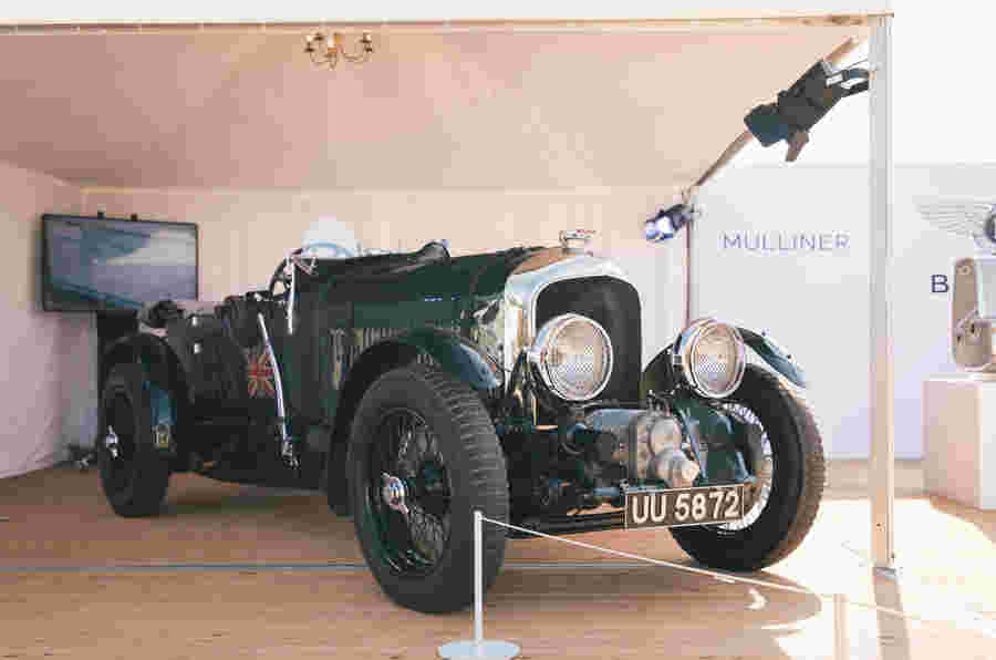 Bentley Blower续是前战俘赛车重新纳税