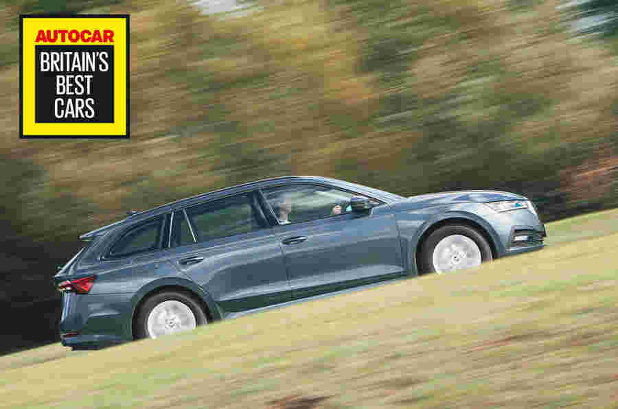 英国最好的家庭车2020:斯柯达八仙志庄园