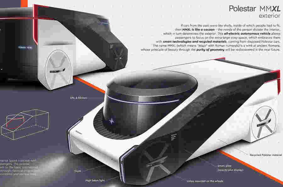 "Polestar Design竞赛赢家是""未来移动性的愿景"""