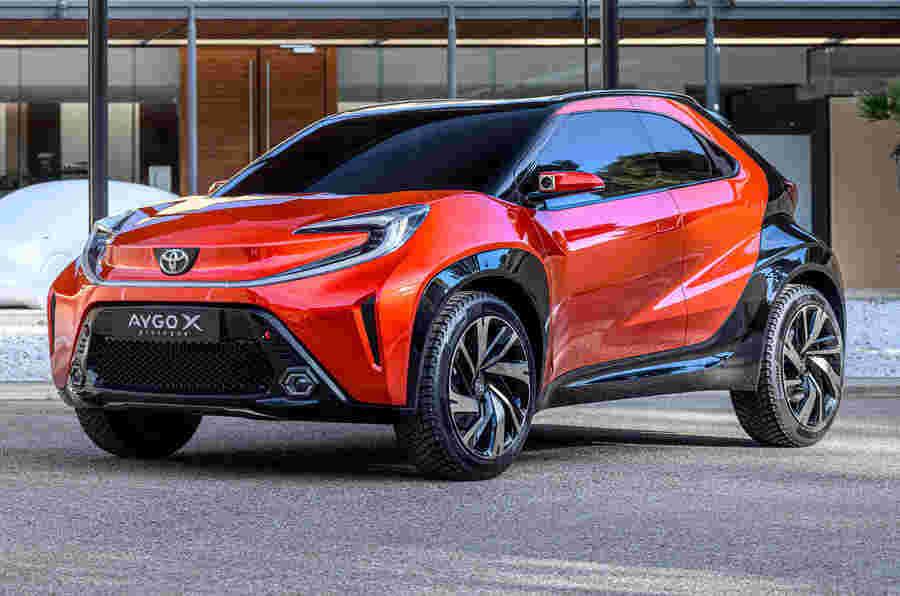 新的2022丰田Aygo重新发明了坚固的紧凑型交叉