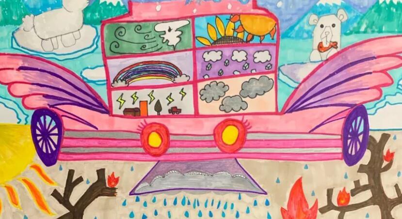 丰田的梦幻汽车艺术大赛向孩子们展示了他们最好的表现