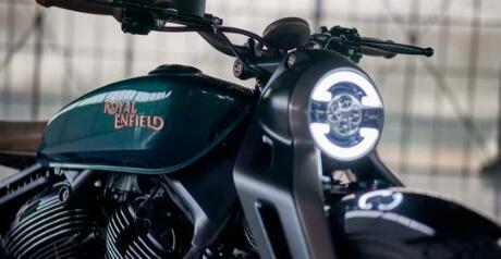 皇家恩菲尔德成为该国最大的中型摩托车公司