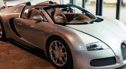 布加迪在四个月内完成了2008年威龙的第一个修复项目
