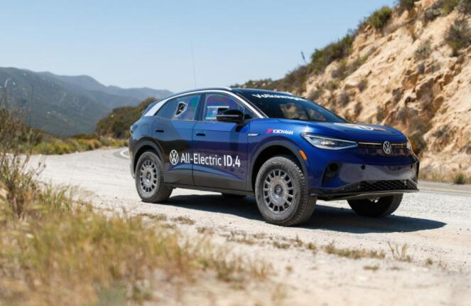 大众汽车为2021年墨西哥1000拉力赛打造硬核ID4
