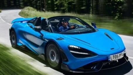 迈凯轮推出全新765LT Spider敞篷超级跑车