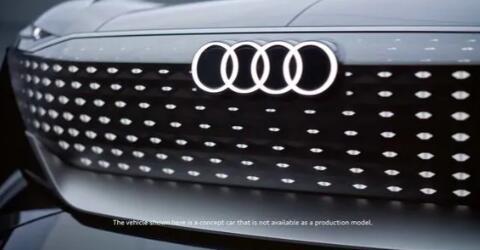 奥迪以未来派外观取笑Skysphere概念车 将于8月10日首次亮相