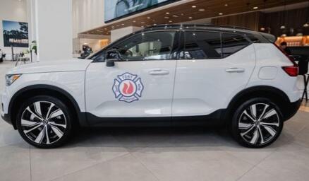沃尔沃为纽约消防部门提供全电动XC40 Recharge SUV