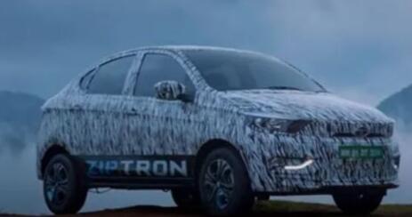 塔塔汽车用Ziptron动力总成挑逗Tigor EV