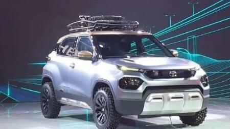 塔塔HBX微型SUV正式亮相塔塔冲床瞄准关键细分市场
