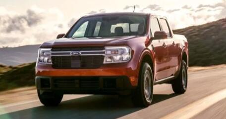 福特的Maverick皮卡车获得10万份注册