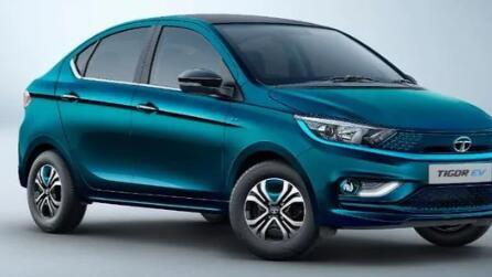 新的Tata Tigor EV可以为大众提供电池电源 可以与Nexon EV标记团队