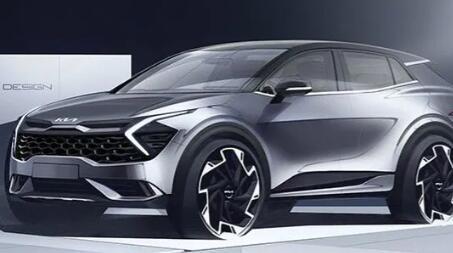起亚将于9月1日推出新款Sportage SUV透露草图