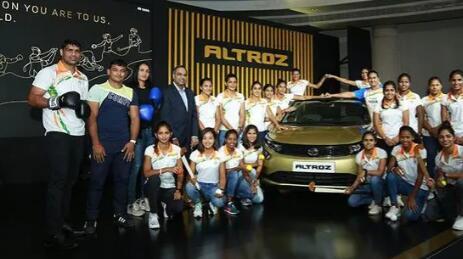 塔塔汽车公司与Altroz一起庆祝错过铜牌的印度奥运运动员