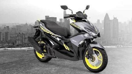 基于雅马哈R15的Aerox 155踏板车将在这个节日期间在印度推出