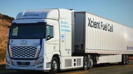 到2028年所有现代商用车都将配备氢燃料电池版本