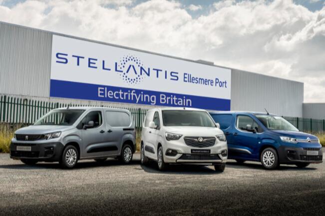 Stellantis确保埃尔斯米尔港的未来成为电动货车工厂