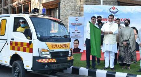 Hero MotoCorp向北阿坎德邦政府移交了13辆生命维持救护车