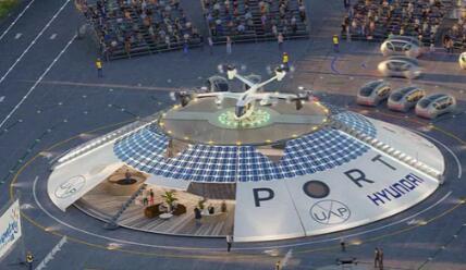 现代和Urban-Air Port计划在全球65个城市开设出租车枢纽