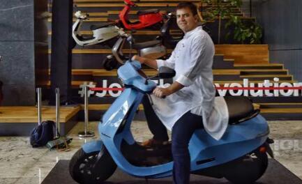 奥拉S1与S1Pro的电动滑板车 价值超过1100亿卢比在两天内售出