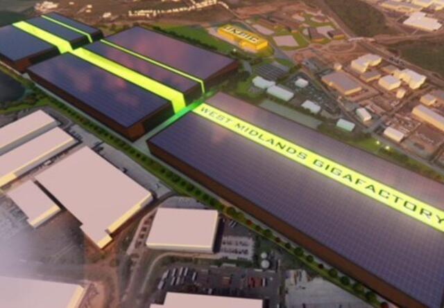 提交考文垂电动汽车电池厂规划申请