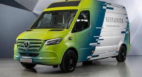 梅赛德斯Sustaineer电动概念货车让城市更清洁